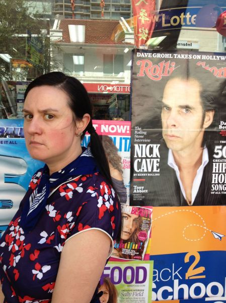 Vanessa and Nick Cave 2013